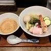 【今週のラーメン4196】 メンドコロ kinari (東京・東中野) 冷製 つけめん 海老 + 味玉 + カモ胸肉 + 日本酒 八海山 〜垣根を越えるよその旨さ!この夏絶対オススメ!和魂洋才のスペシャル冷製海老つけそば!