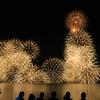 水郷祭に行って来たから、花火の写真をあげてみるぜ。2017