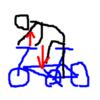 ロードバイクにおける上半身の使い方