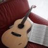 結婚7周年記念にK.Yairiのアコースティックギターを買いました