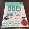 ダイエットのお供に、永岡書店の「90日つけるだけ健康ノート」を書き始めた話。
