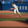 一塁到達3.8秒の俊足 法政大 舩曳 海選手 大卒左外野手