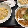 新宿での仕事帰りに日高屋でラ・餃・チャセット♪♪