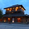【加賀】山代温泉の中心「湯の曲輪」ライトアップがノスタルジックで綺麗