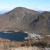 赤城山。11月下旬。