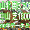 【中山牝馬S 2021】過去10年データと予想