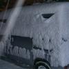 バスパネル貼れました・やっぱり除雪デシタw