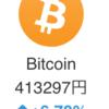 ビットコインが40万円突破!!今注目すべきは・・・