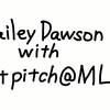 Hailey Dawsonさんと始球式