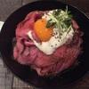 人生初のローストビーフ丼はRed Rock仙台店で