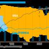 カリフォルニア州の一人当たりの電力使用量は40年間ほぼフラット