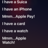 #0103 iPhoneのSiriに向かってピコ太郎の「PPAP」を歌ってみた。
