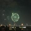 猪名川花火大会に行きました