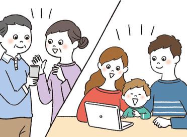 離れていても顔を見て話そう。親子で始める簡単ビデオ通話のポイント