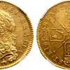 イギリス1688年ジェームス2世5ギニー金貨PCGS MS61