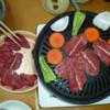 水入らずの 焼肉パーティと 海苔巻き寿司茶漬け