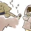 犬の多頭飼い暮らし漫画:おまけイラスト⑥【おさんぽ練習】