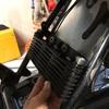 GB250 オイルクーラー取り付け考察 その2