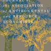 【計量経済学】資源・環境経済学における因果推定の最前線: JAEREの特集