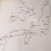 毎日更新 1984年 バックトゥザ 昭和59年8月3日 日本一周 バイク旅  23歳  ホンダCL400 タイムスリップブログ シンクロ 終活