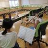 夏休みの部活動 音楽部 最後の練習
