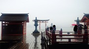 広島旅行1日目:宮島食べ歩き、厳島神社、宮島水族館編