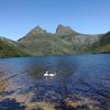 タスマニア1の絶景クレイドルマウンテン国立公園でトレッキング!!