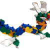 5歳のLaQ遊び方、作品例と収納