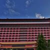 「圓山大飯店 グランドホテル台北」~朝のホテル内の敷地の散策、宿泊客とほとんど会わない。