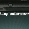 (未解決)ThinkPad起動時にTPM関連のメッセージが出て…