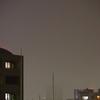 「ほぼライブ」 - 秋雨で見えない
