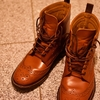 Tricker'sスタイルのカントリーブーツ 革靴の甲の痛みを解消