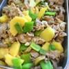 豚肉とキタアカリの煮物