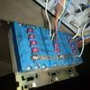 高所の漏電調査改修は、結構手間取ります。