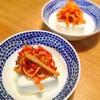 3分で出来る簡単一品「カニカマキムチ豆腐」のレシピ