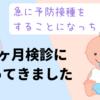 【10か月健診に行ってきました】日本脳炎、九州は危ない?