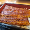 【うなぎ ての字 本丸 @新橋】鰻問屋「ての字」直営の鰻の美味しさに感動!!身は脂がのっていて柔らかく肉厚!!最高の鰻を味わえます【上うな重】