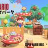 【あつ森】海辺のマリオテーマパーク~マリオ家具を使った島クリエイト~
