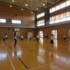 6年生:体育 ソフトバレーボール パス練習