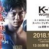 【試合結果】「武尊VS皇治」戦など|12月8日開催「K-1 WORLD GP 2018 JAPAN ~K-1ライト級世界最強決定トーナメント~」
