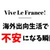 【フランス生活】海外出向生活で不安になる瞬間