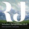 シューベルト:交響曲第2&3番 / ルネ・ヤーコプス, ベルギー・バロック・オーケストラ (2020 SACD)