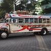 グアテマラのバスはカラフルで超派手