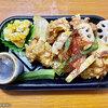 【デリバリー】和食さと ~若鶏の唐揚げ黒酢あんかけ弁当~