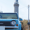角島灯台と元乃隅稲荷神社と日産パオ