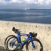 本日のライド  江戸川CR宝珠花橋まで往復117km