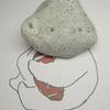 「ラグビーベア石」Imaginative stone おもしろ石vol.19