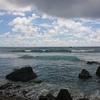 【海】八丈島のサーフポイント「タコス」でサーフィン。2日目【波日記】