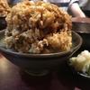 食べることには飽きない 上野の天久で怪物かき揚げ丼食べた