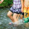 キャンプで川遊びは最高に楽しい!遊び方と気を付けること!